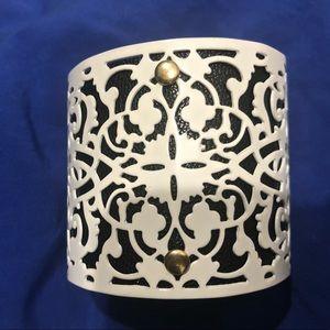 New white cuff bracelet for sale!
